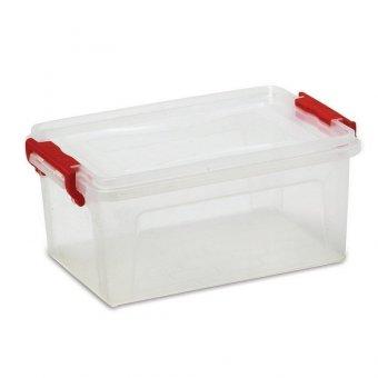 Купить Ящик 25 л, с крышкой на защелках, для хранения, 24х48х32 см, пластиковый, прозрачный, IDEA, М2867 530653 по низкой цене в москве. Цены, отзывы, описание.